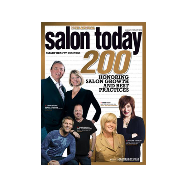 Salon Today Top 200 in North America January/February 2012