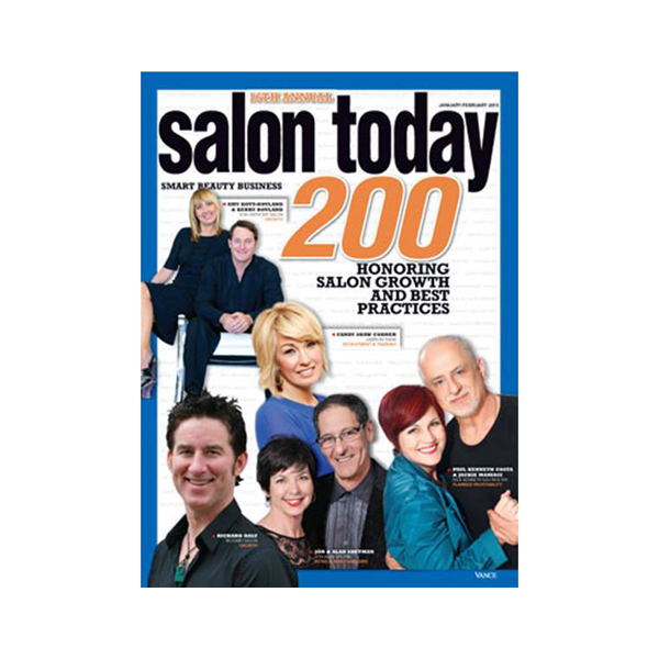 Salon Today Top 200 in North America January/February 2013