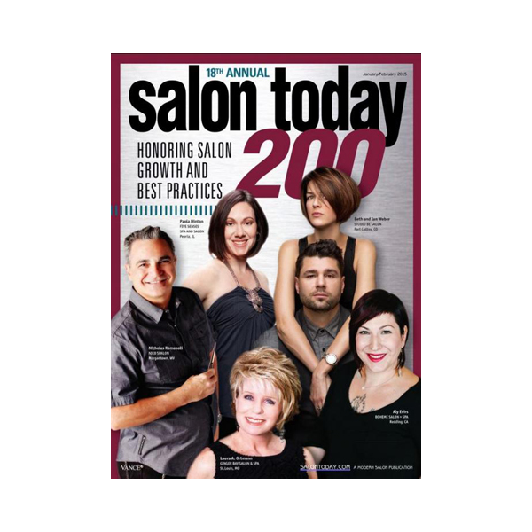 Salon Today Top 200 in North America January/February 2015