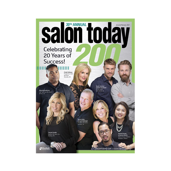 Salon Today Top 200 in North America January/February 2017