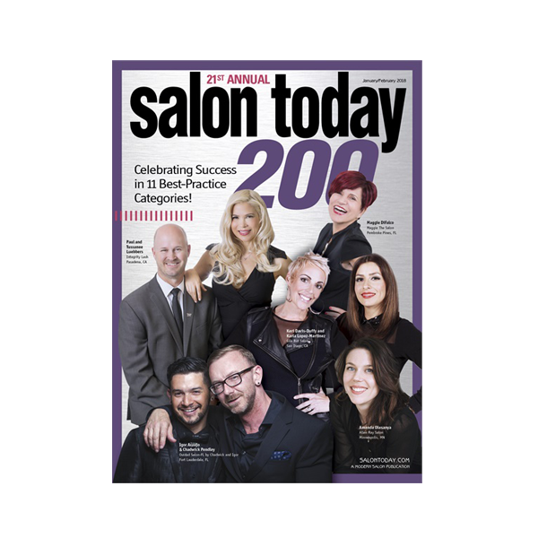 Salon Today Top 200 in North America January/February 2018