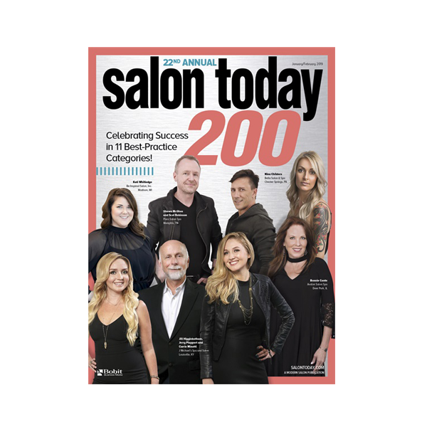Salon Today Top 200 in North America January/February 2019