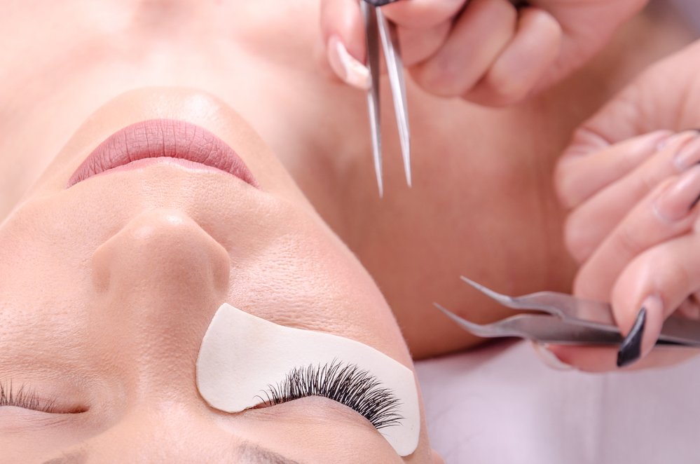 Simplify life with  Lash Extensions