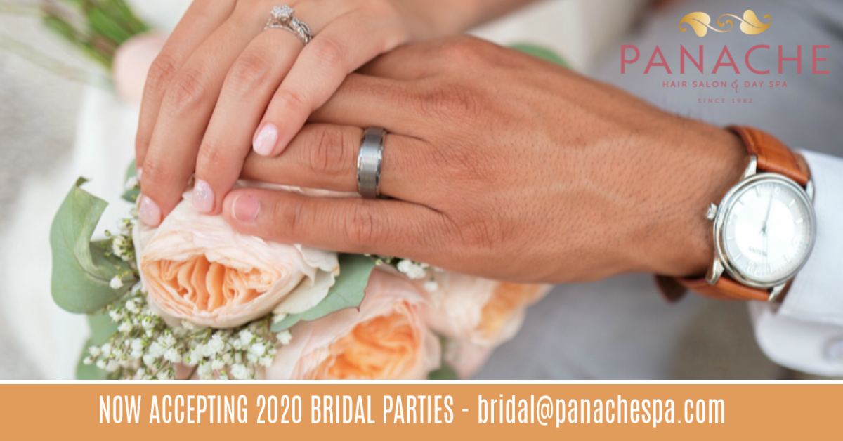 Bridal Services at Panache are Booking for the 2019 - 2020 Wedding Season!