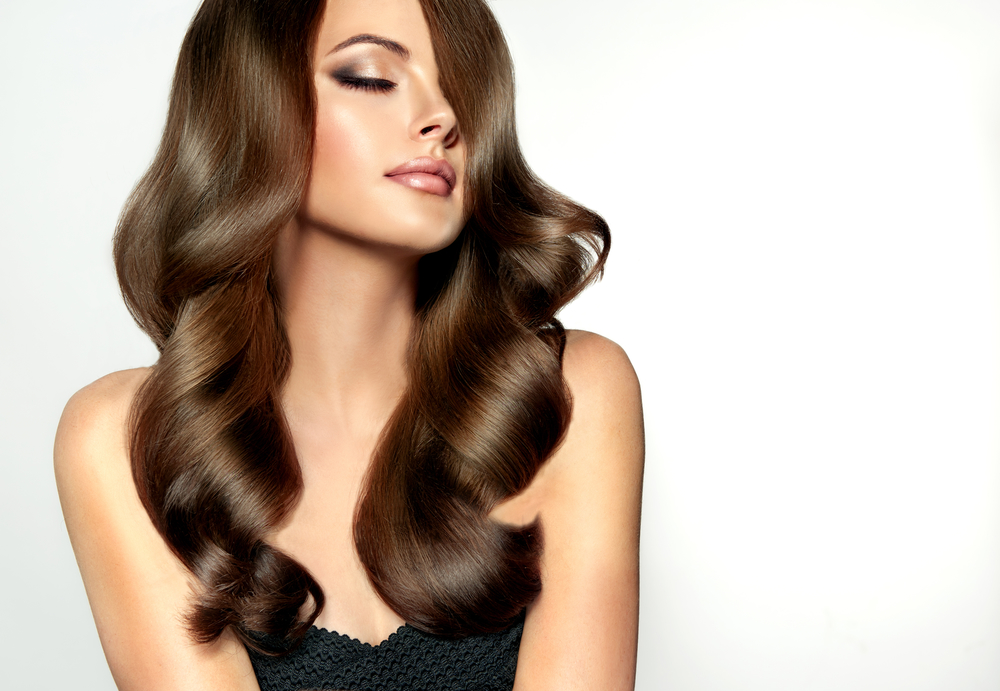Gorgeous summer hair with keratin