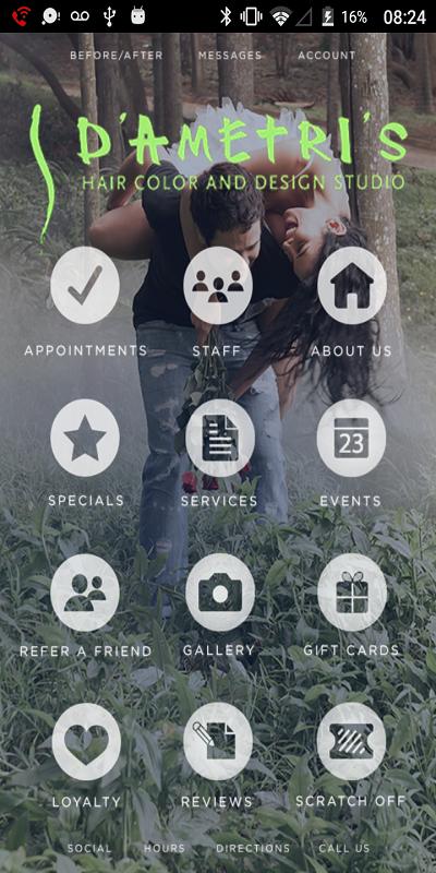 Make Life Easier with Our Salon Mobile App - D'Ametri's Salon