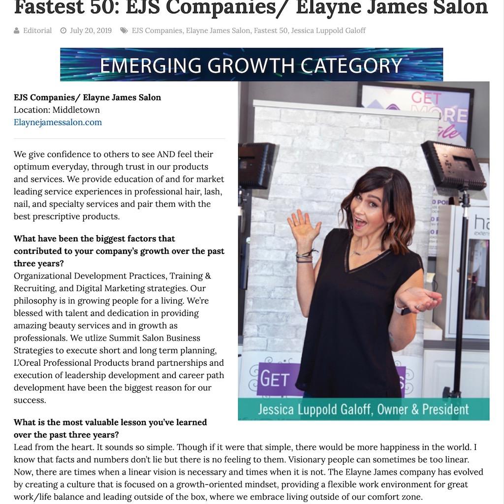 Delaware's Fastest 50 Companies