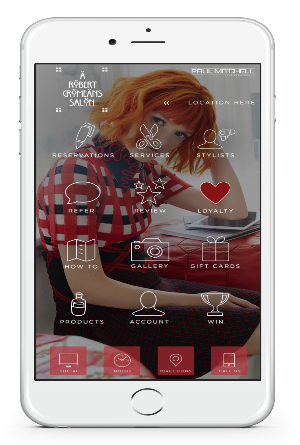Try the Walk In Salon, A Robert Cromeans Salon, Mobile App