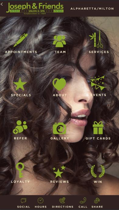 The Joseph & Friends Salon & Spa Mobile App