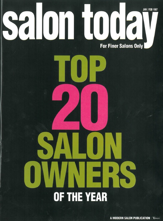 TEDDIE KOSSOF AMONG TOP 20 SALON OWNERS IN THE U.S.