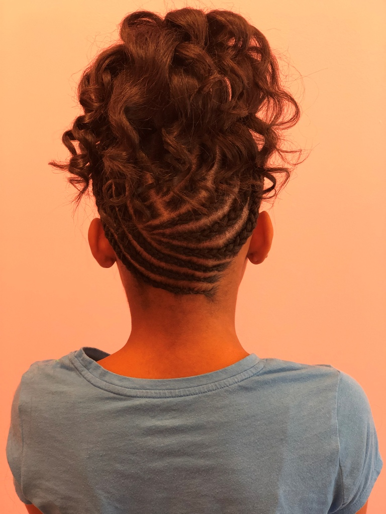 Holiday Hair Styles for Kids