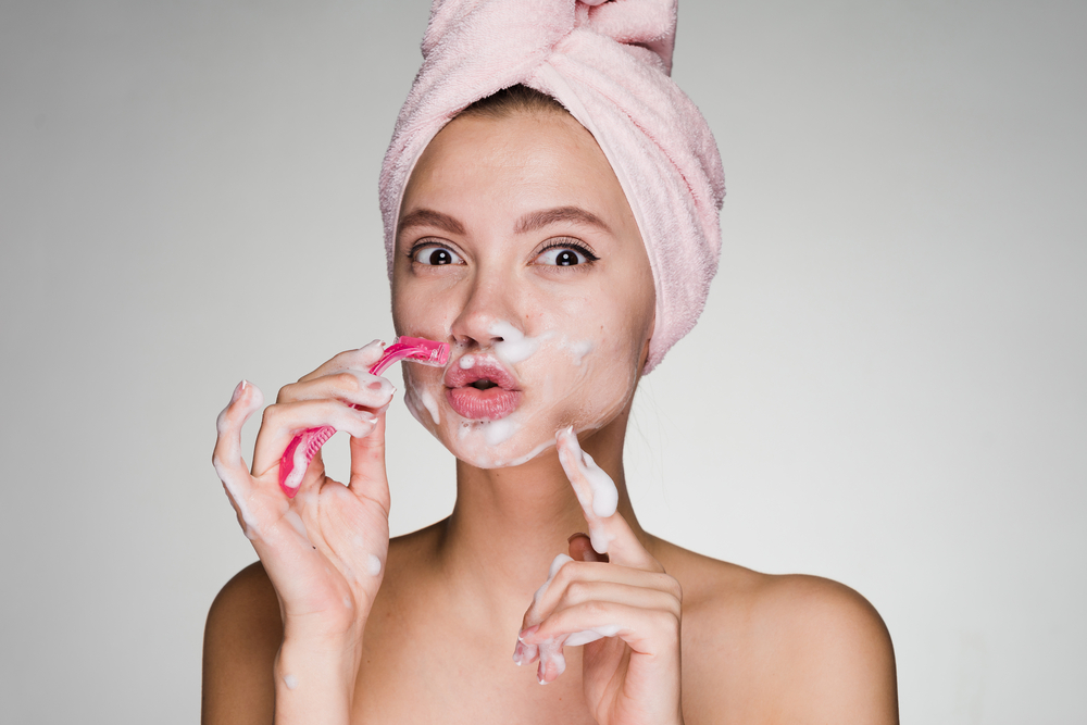 Wax Your Unwanted Facial Hair