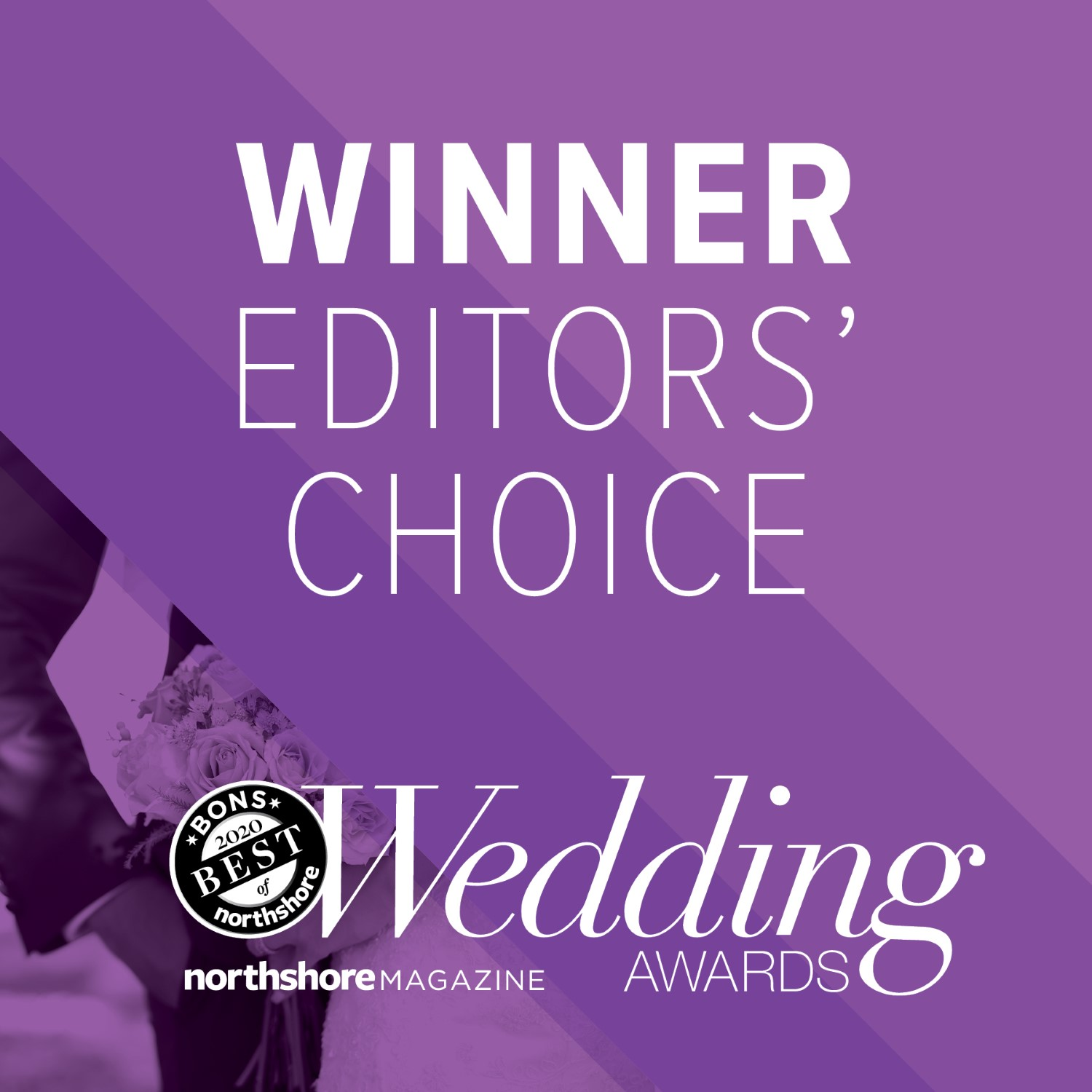 "WINNER OF THE 2016 BEST OF NORTH SHORE ""WEDDING AWARD"" FOR DAY SPA!"