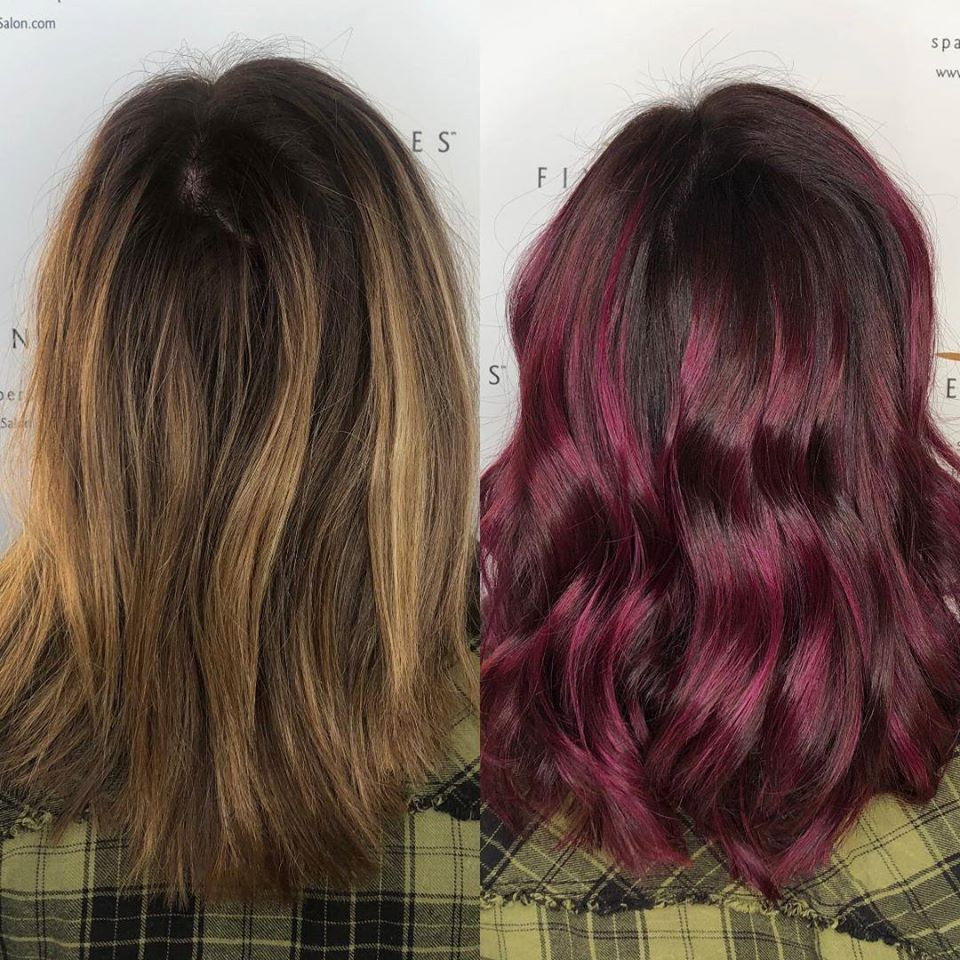 WINTER HAIR COLORS ON TREND