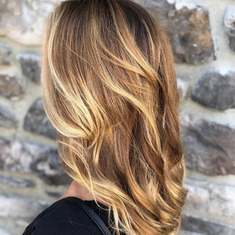 Sun-Kissed Summer Hair