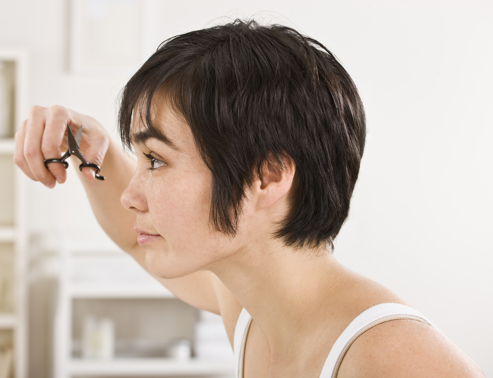 How to Trim Your Bangs at Home