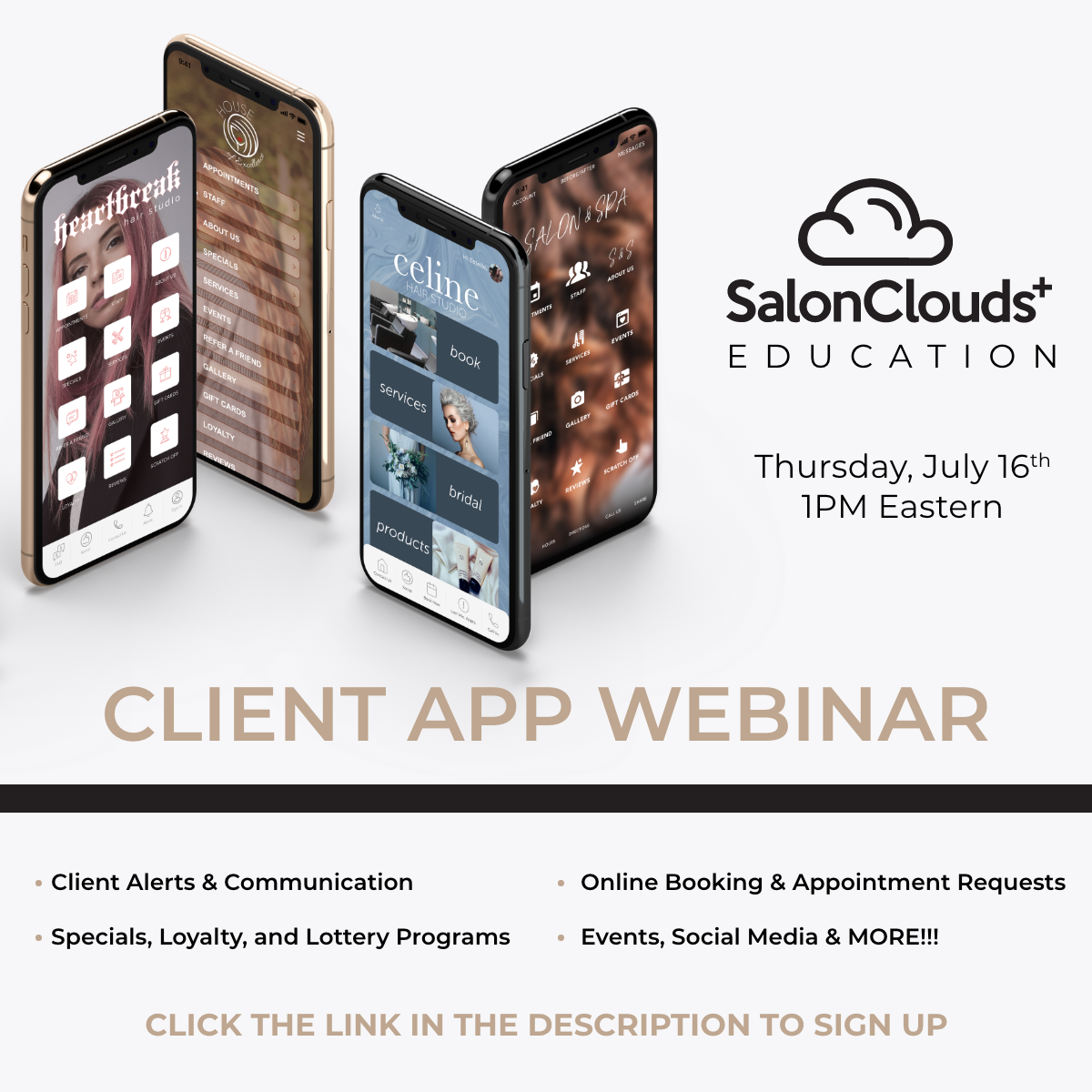 Client APP Training Webinar Recording