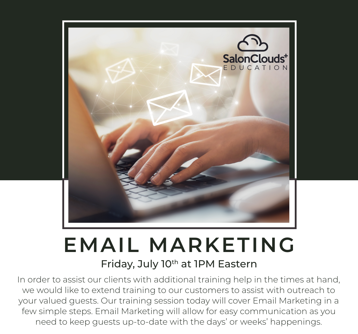 Email Marketing Training Webinar Recording
