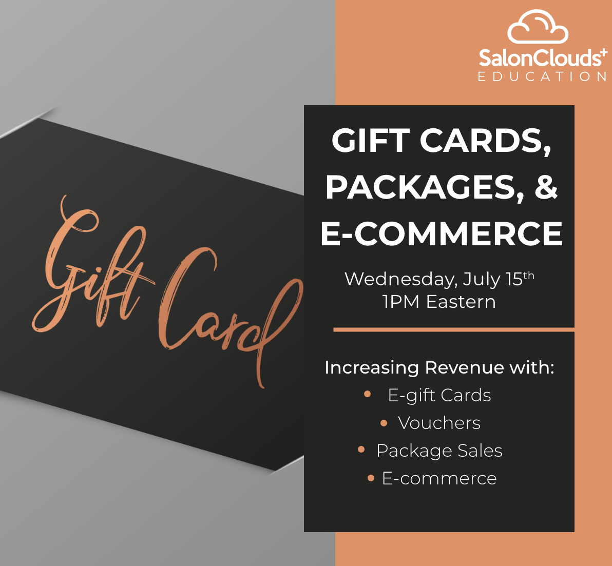 Gift Cards, Packages, & E-commerce Training Webinar Recording