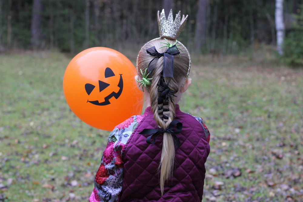 Ghoulish Halloween Hairstyles for Kids
