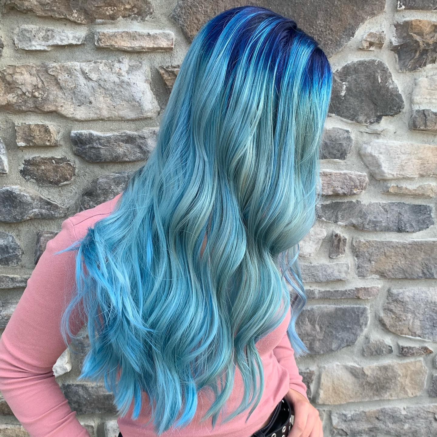 Falling for Uniquely Colored Hair
