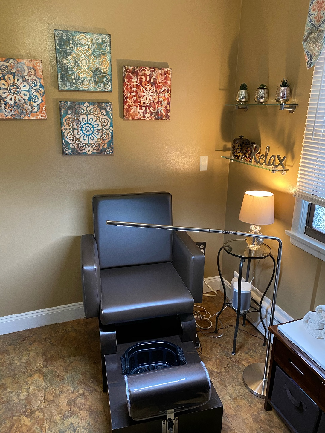 Private Pedicure Room Now Available!