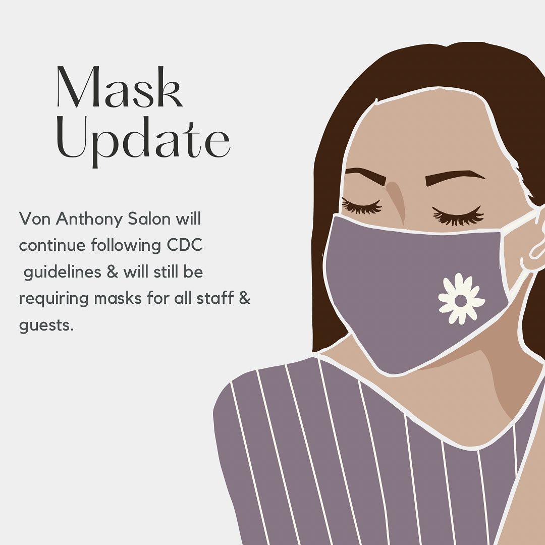 Mask Update For Von Anthony Salon