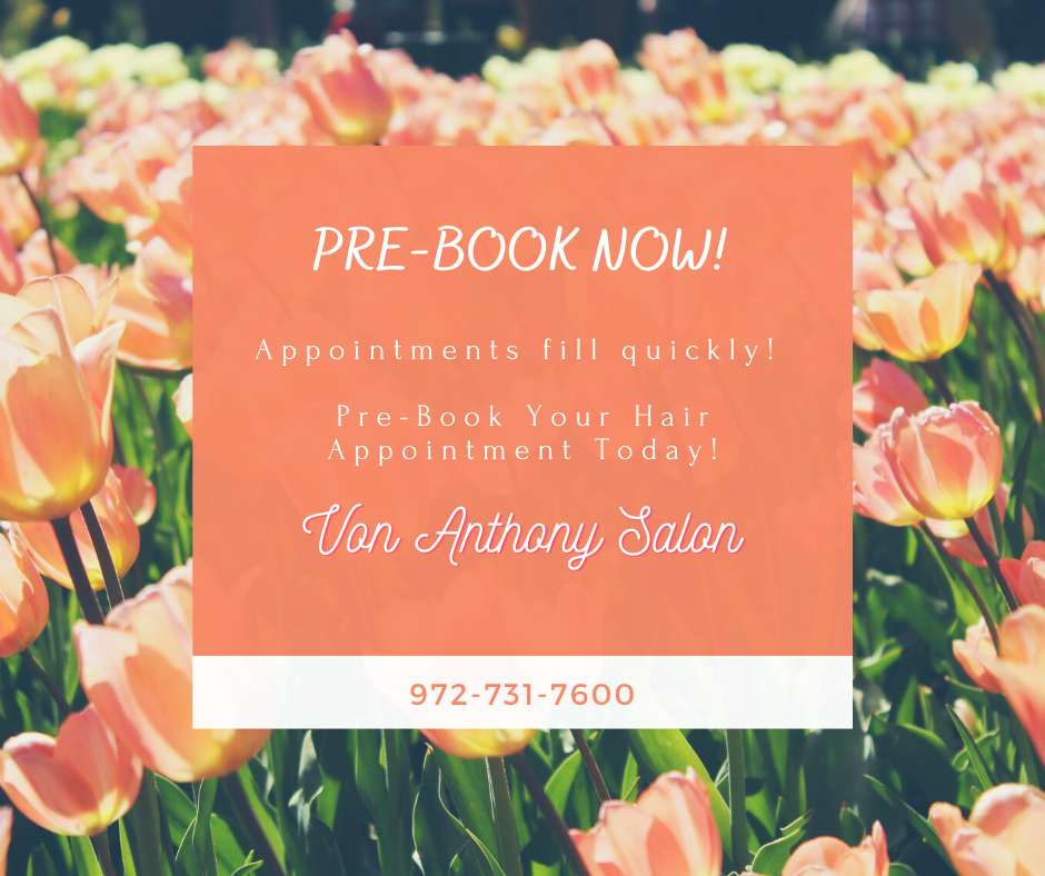 Pre-book Your Next Appointment