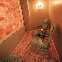 Breathe in the Benefits of The Glam Room's Salt Room