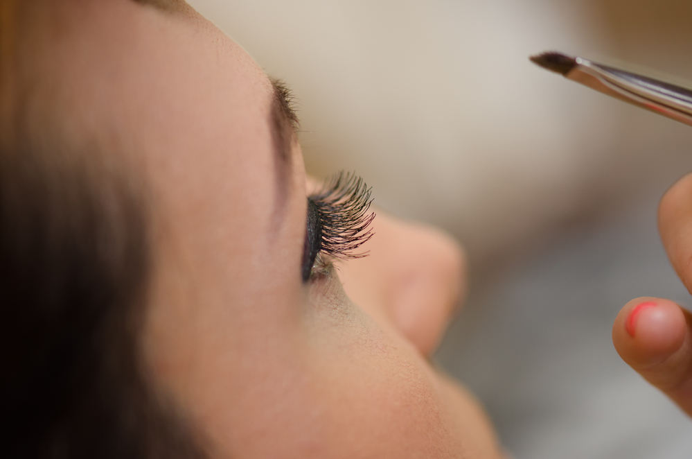 Extensions Make Lashes Perfectly Pool-proof