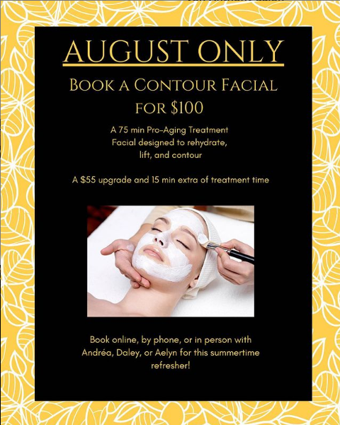 August Facial Promotion - Instant Radiance!