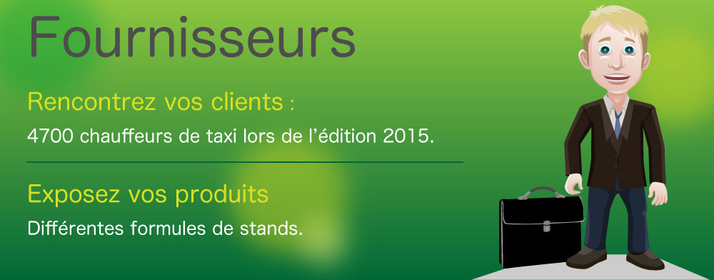 Professionnels du Salon des taxis 2015