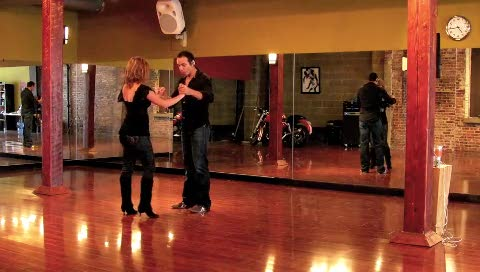 Bachata Partnership Pattern