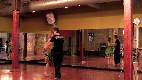 Salsa Social Dance Pattern
