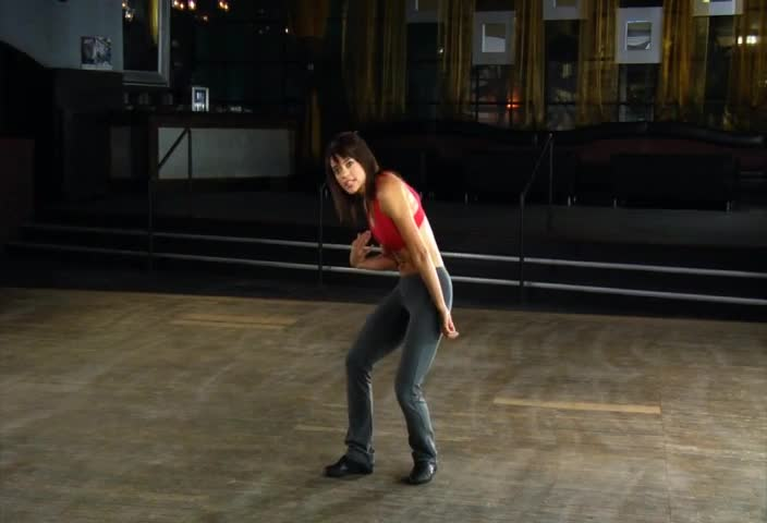 Step Guide: Grapevine to the Body Roll