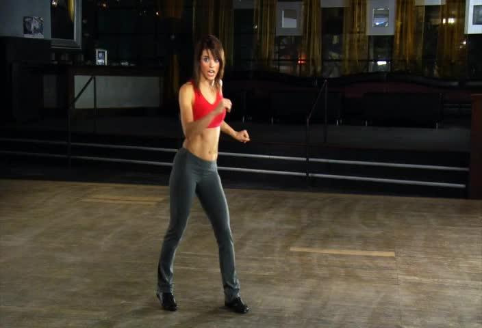 Step Guide: Cha-Cha Kicks to the Side Step