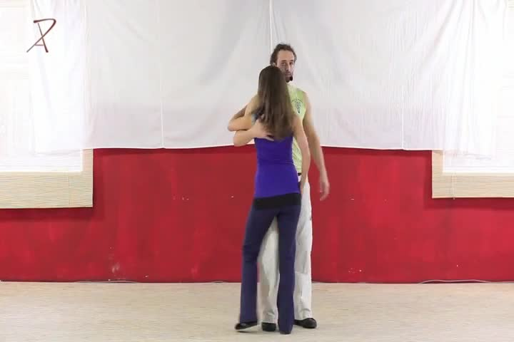 Partnering: 5 Basic Stepping Pattern with Music
