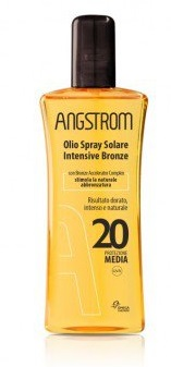 ANGSTROM OLIO SOLARE SPRAY INTENSIVE TAN SPF 20 150 ML