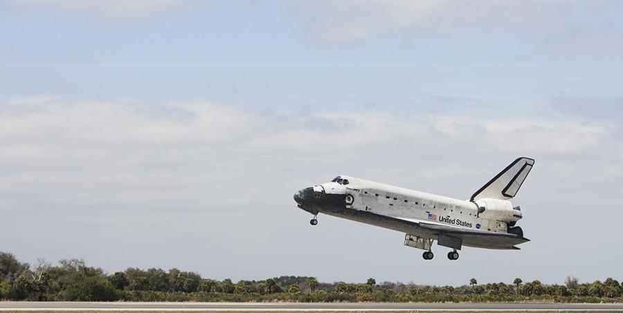 space shuttle landing florida - photo #41