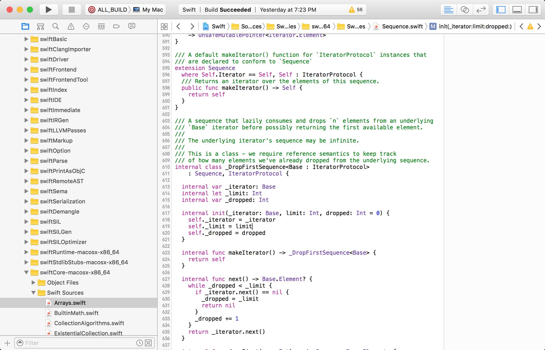Swift running in Xcode
