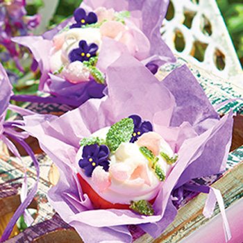 Pansies To Decorate Cakes