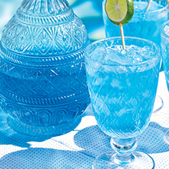Blue Wine Spritzers