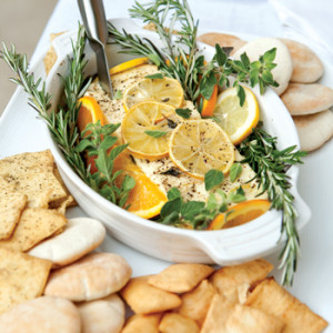 Baked-Feta-with-Lemon-and-Herbs