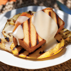 Grilled-Pound-Cake-and-Tropical-Fruits
