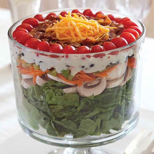 24 hour layered salad sandra lee