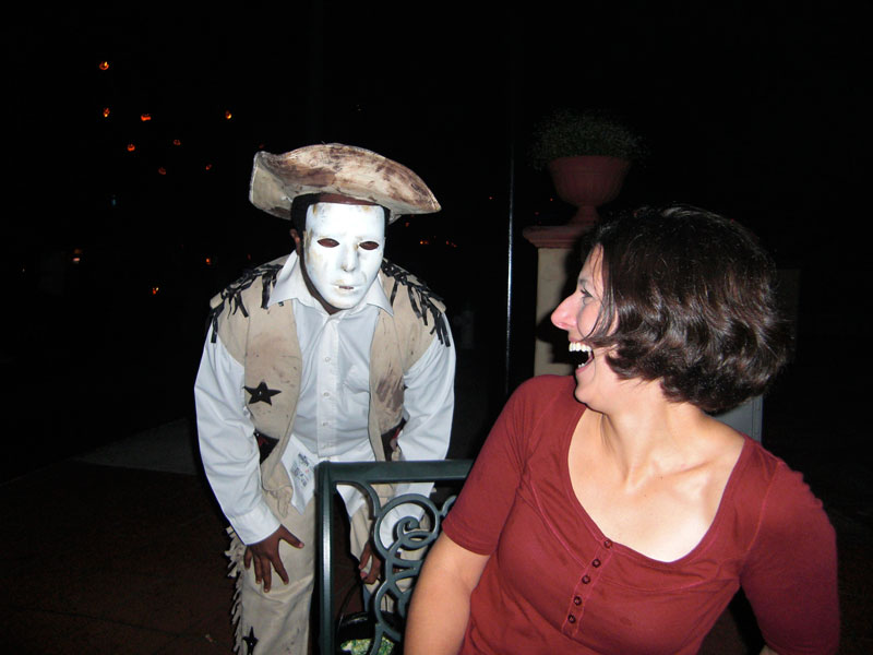 ghost at halloween horror nights in orlando fl