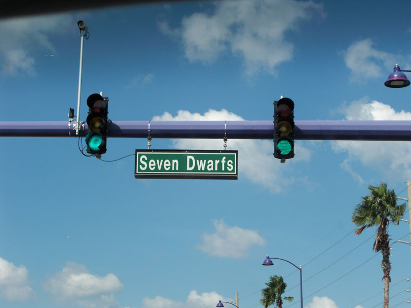 Seven Dwarfs Lane in Kissimmee