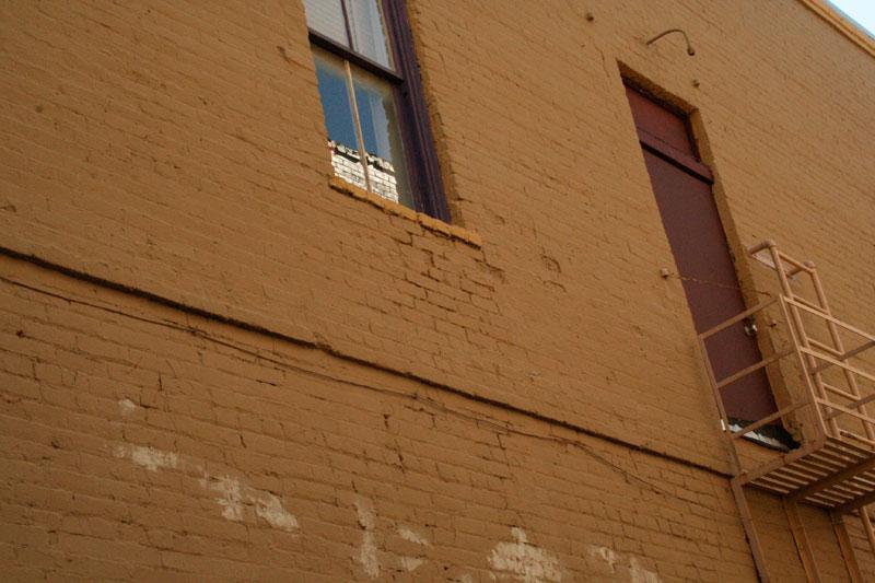 Close up of Dark Alley