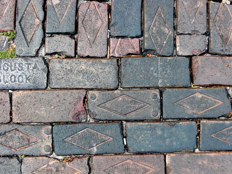 Day 40 – Historic Sanford Pavers