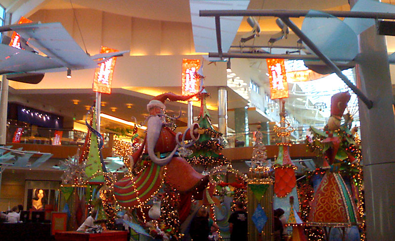 Holidays at the Mall at Millenia